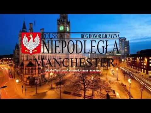 25 09 2016 Obchody w Newark on trent  Polska Niepodległa Manchester