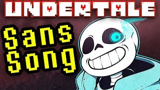 "UNDERTALE SANS SONG ""Judgement"" by TryHardNinja"