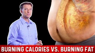 Burning Calories vs. Burning FAT Calories?