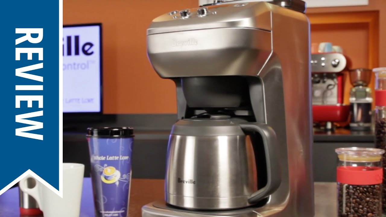 Breville Coffee Maker The Grind Control : Review: Breville the Grind Control Coffee Maker - YouTube