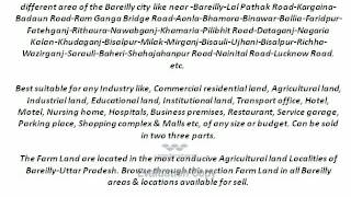 Agriculture land for sale india