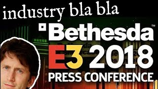 Bethesda E3 2018 Comments - Elder Scrolls VI, Starfield, Doom Eternal, etc