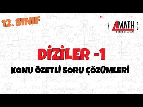 Diziler -1 - Konu Özetli Soru Çözümleri
