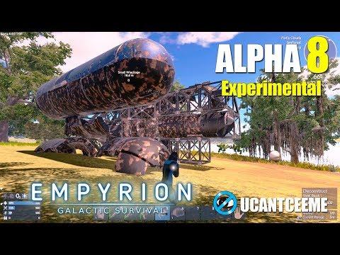 Empyrion Galactic Survival | Alpha 8 Experimental | NEW SWAMP LAND VEGETABLES n MOTORBIKES | Ep. 2