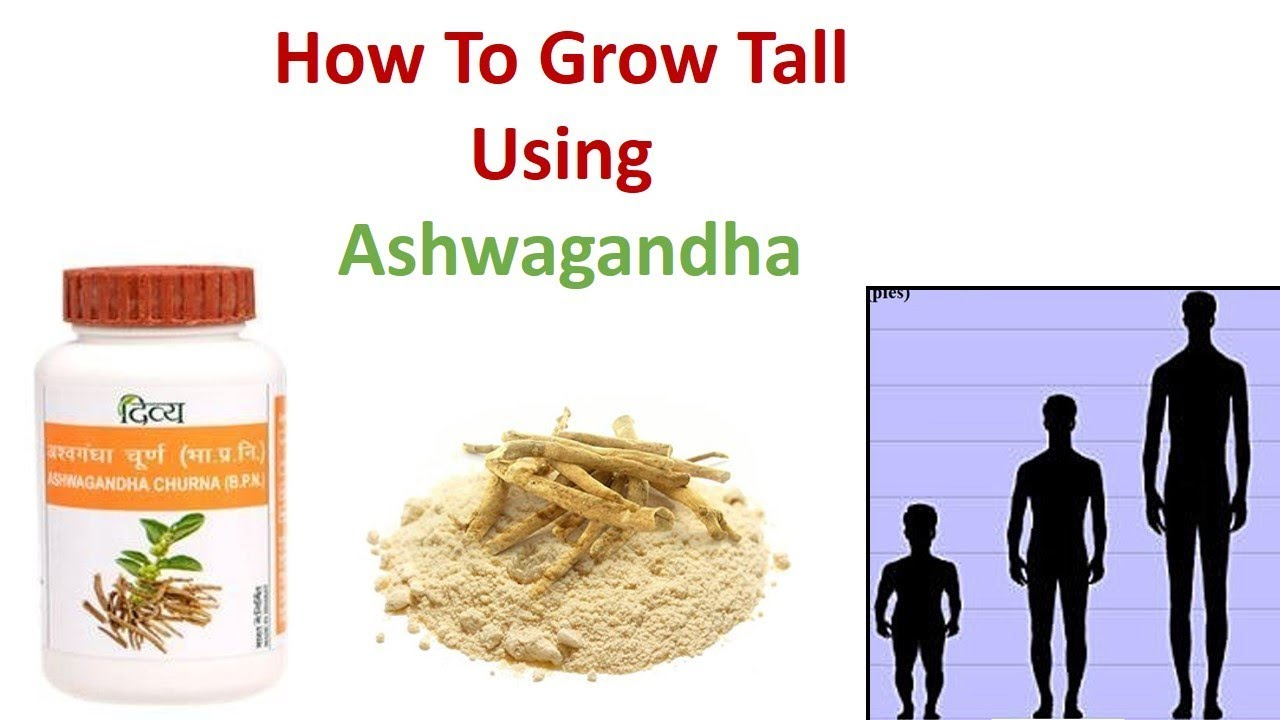 Ashwagandha benefits in height increase for youngsters - YouTube