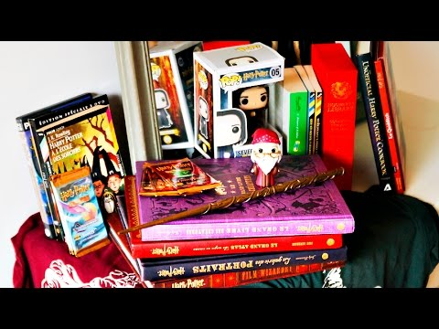 Ma Collection Harry Potter Livres Goodies Vetements
