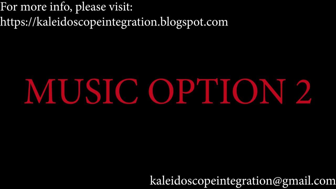 Music Option 2 - New Dawn