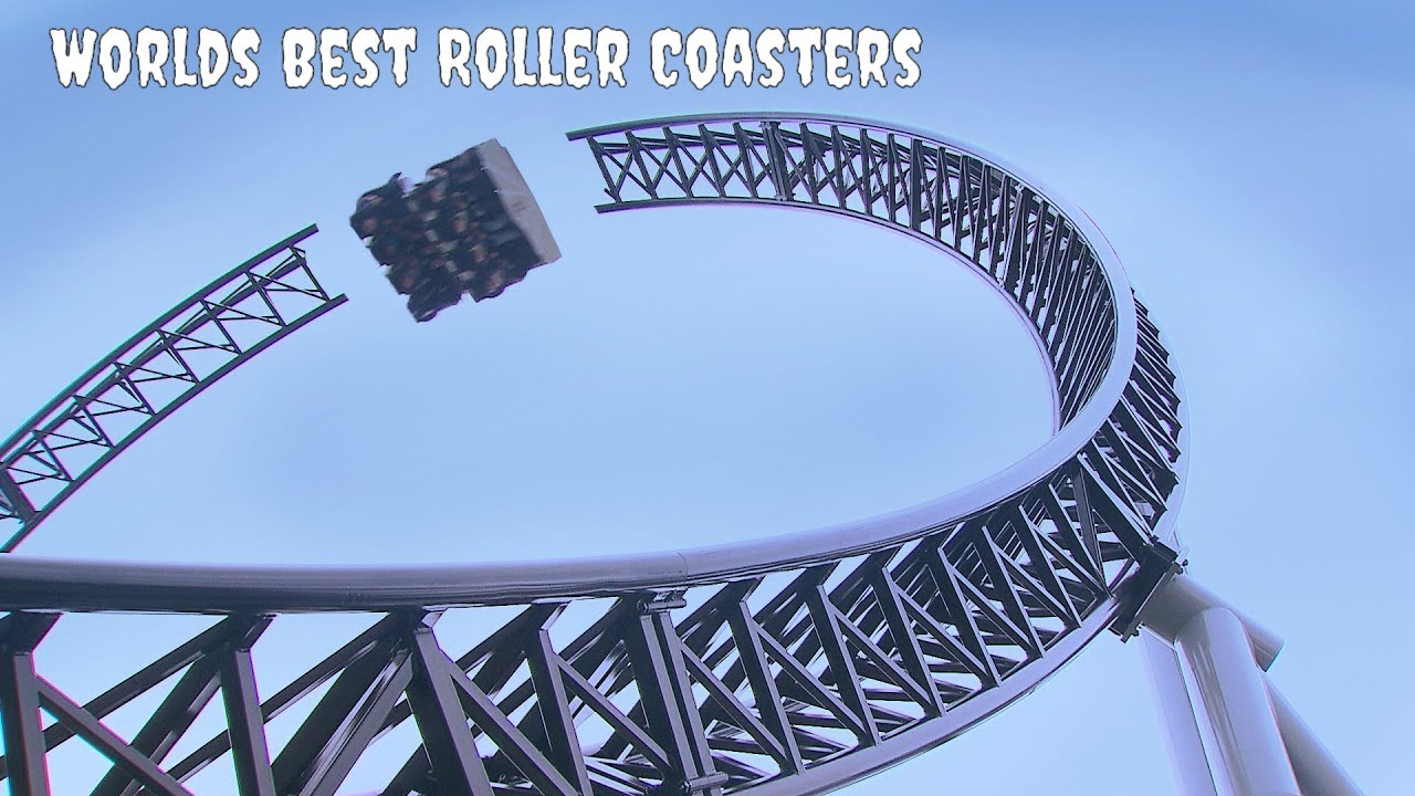 Worlds Best Roller Coasters Japanese Takabisha Youtube