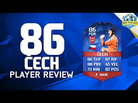 FIFA 16 | PETR ČECH RECORD BREAKER (86) | Player Review+Statistiche in game (ITA)