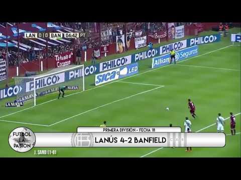 TODOS LOS GOLES: Primera División - Fecha 18