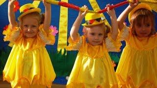 Танец цыплят (Видео Валерии Вержаковой), средняя группа