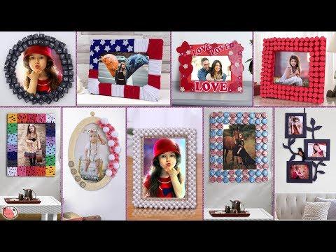 10 DIY Photo Frame Creations !!!