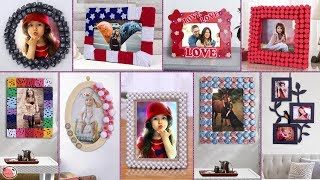 10 DIY Photo Frame Creations !!!