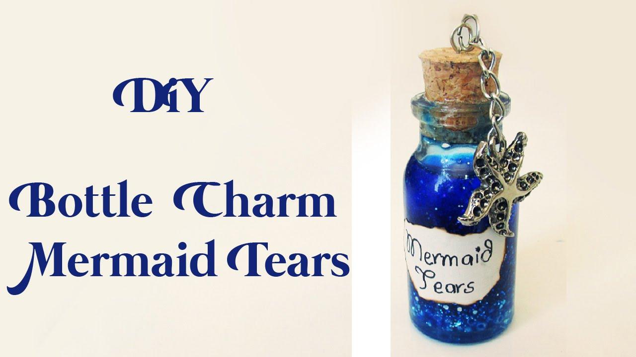 Diy pote l grimas de sereia bottle charm mermaid tears ideias personalizadas diy