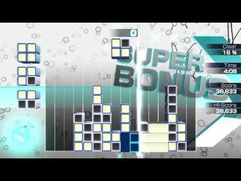 Lumines: Electronic Symphony Vita Gameplay