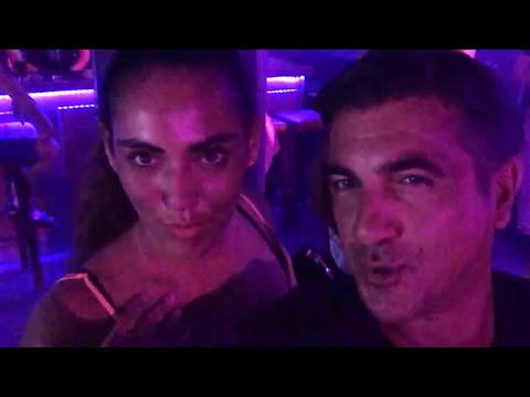 Beautiful ebony Dutch girl party with the BOSS  PARADISO CLUB Chersonissos 2017