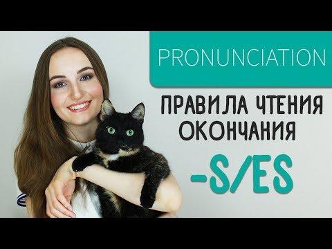Произношение окончания -S/ES - English Spot
