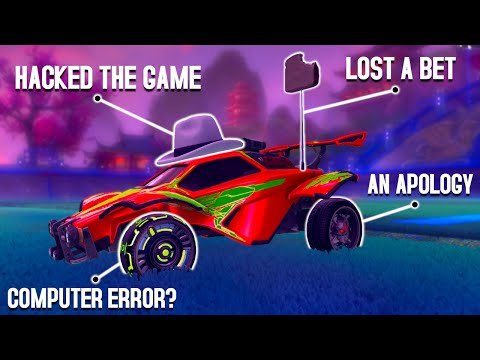 10 Rocket League items with CRAZY backstories