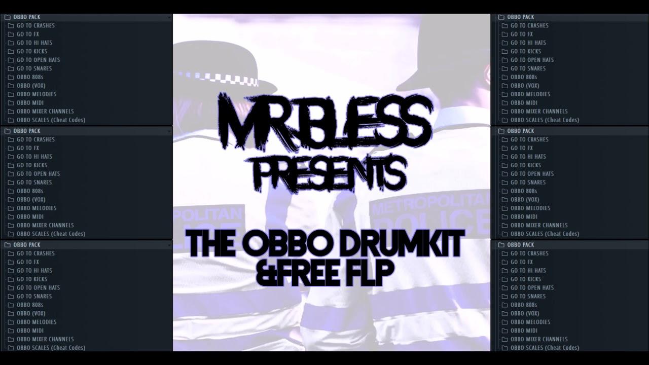 FREE FLP] 2018 Uk Drill Drumkit + Grossbeat Bank - Mr Bless : FL_Studio
