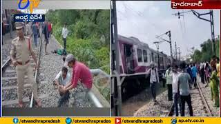 Two trains collide in Kachiguda | 10 injured