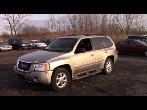 2002 GMC Envoy back lot walk around and start up