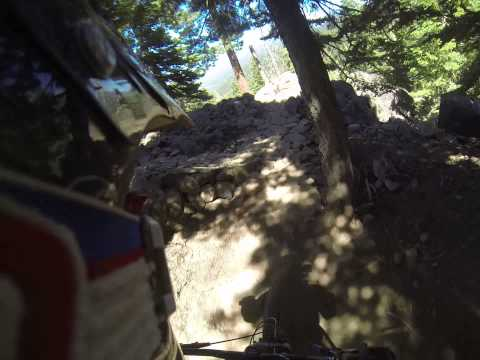 Northstar Bike Park - New GoPro Feature on Gypsy, Center-line