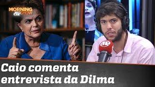 "Coppolla esmiuça entrevista de Dilma Rousseff ao UOL: ""Chapa-branca"""