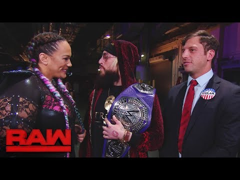Nia Jax wants to chat with Enzo Amore in private: Raw, Dec. 11, 2017