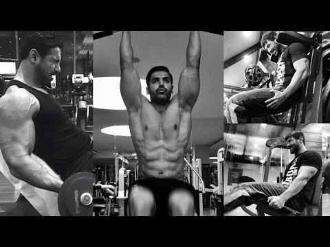 John Abraham Workout (Motivational Video)
