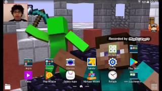Como colocar papel de parede de Minecraft realista no tablet e celular