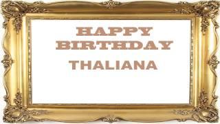 Thaliana   Birthday Postcards & Postales