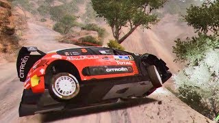 WRC 7 FIA World Rally Championship - Crash Compilation #2 (PC HD) [1080p60FPS]