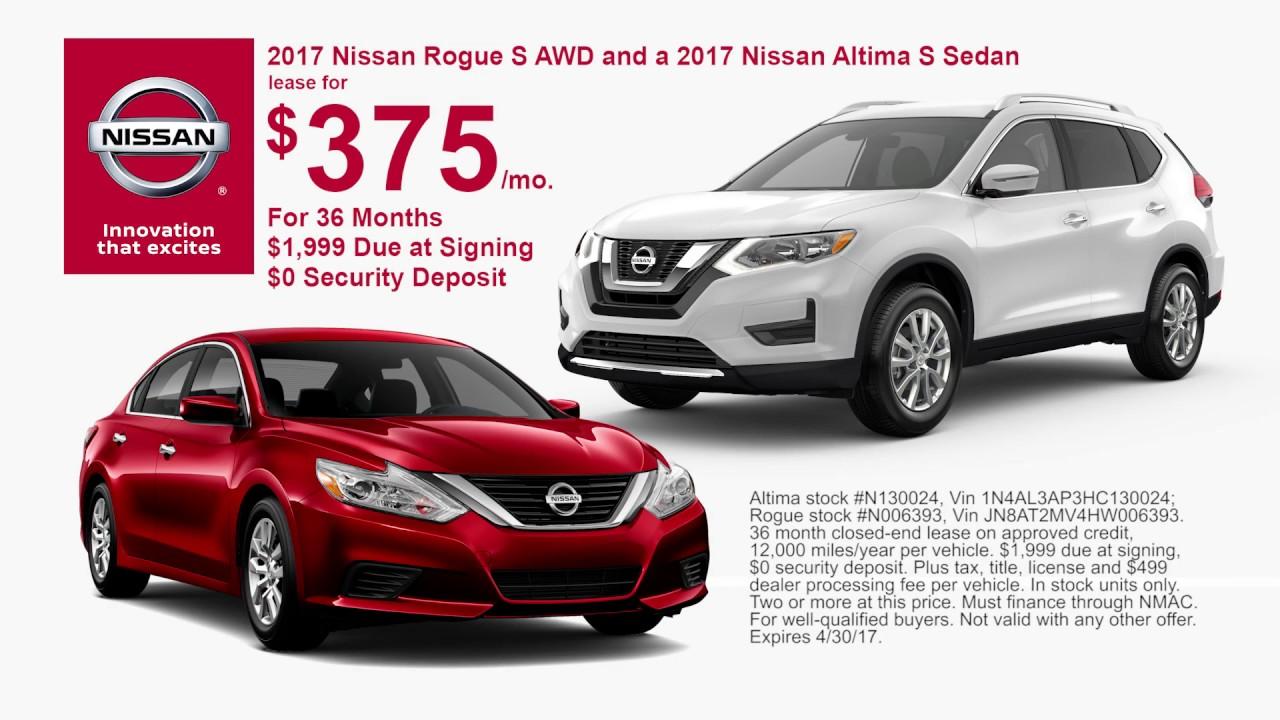 Neil Huffman Nissan >> Neil Huffman Nissan Of Frankfort April 2017 Lease Offers