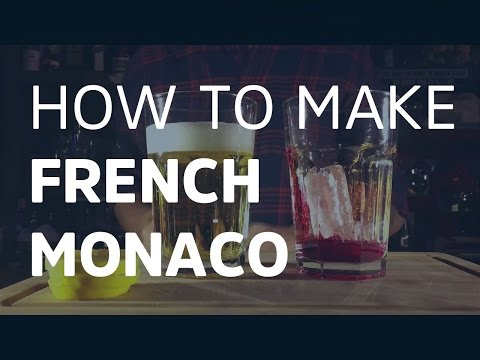 French Monaco - How To Make Cocktails