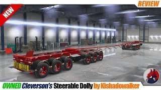 "[""American Truck Simulator"", ""mods"", ""modifications"", ""owned trailer mod"", ""Cleverson's Steerable Dolly Ownable Trailer"", ""by Kishadowalker""]"