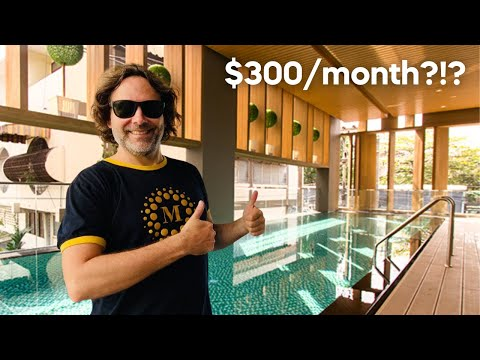 $300 CONDO IN THAILAND - 2 X CONDO RENTAL TOURS IN CHIANG MAI