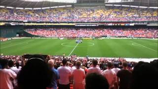 Jamaica vs United States Anthems Gold Cup Quaterfinals 2011