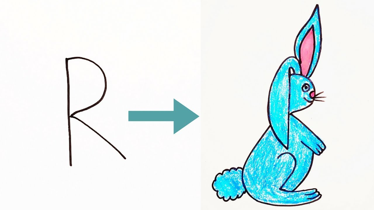 How To Draw A Mini Rabbit