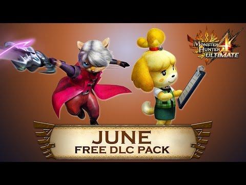 Monster Hunter 4 Ultimate - June DLC Pack