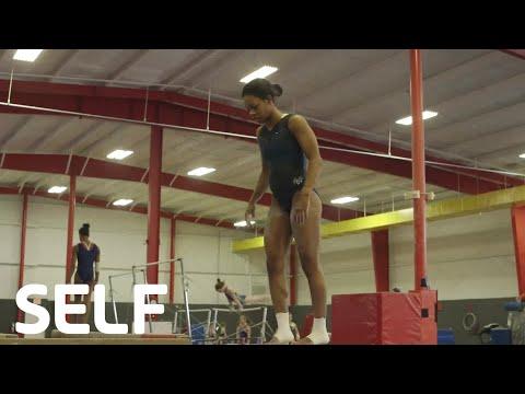 Olympic Gymnast Gabby Douglas Goes For Gold