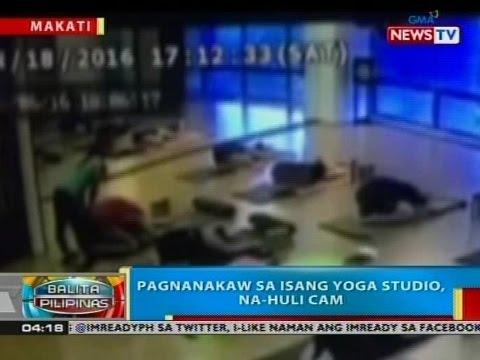 BP: Pagnanakaw sa isang yoga studio, na-huli cam