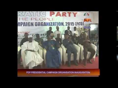 PDP Jonathan Campaign Committee Inauguration