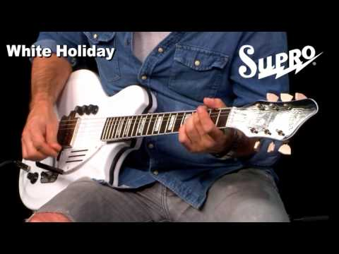 Supro White Holiday Guitar Official Demo by Ford Thurston