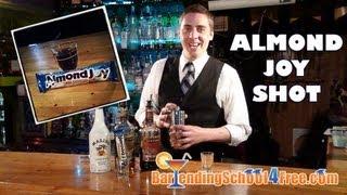 Almond Joy Shot Recipe