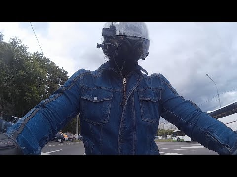 Обзор моей любимой мотокуртки - джинсовка Motocycletto