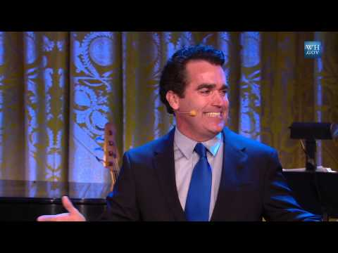 Brian d'Arcy James performs