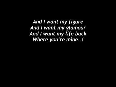 Lily Allen - Miserable without your love LYRICS