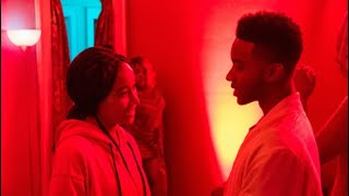 Amandla Stenberg and Algee Smith Interview for The Hate U Give