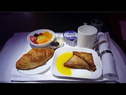 Emirates Business Class A380 - New York to Dubai