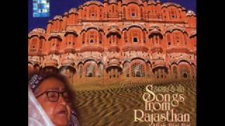 Songs From Rajasthan - Kallali